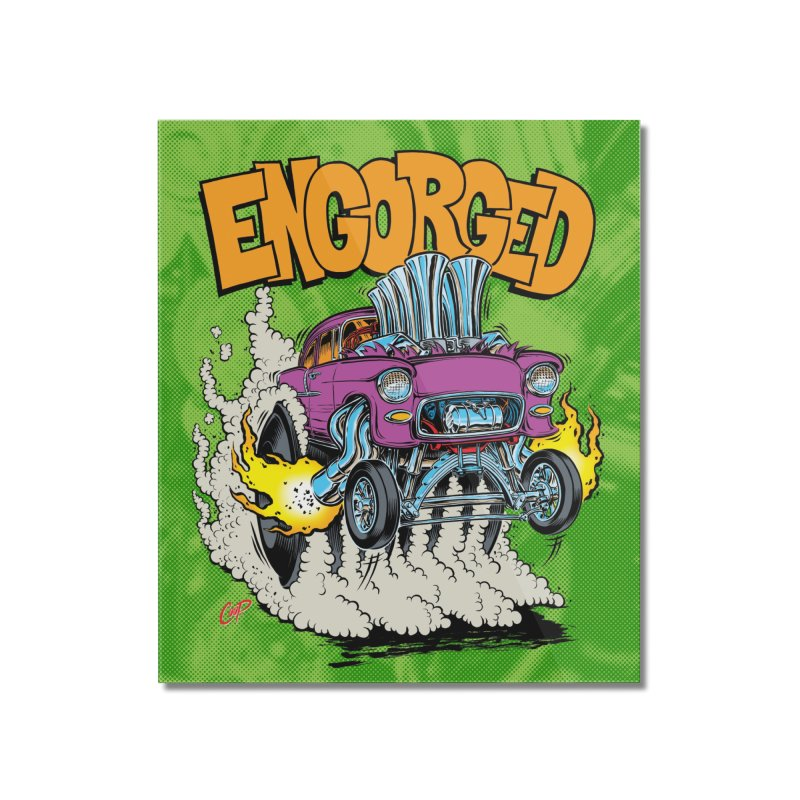 ENGORGED II Home Mounted Acrylic Print by artofcoop's Artist Shop