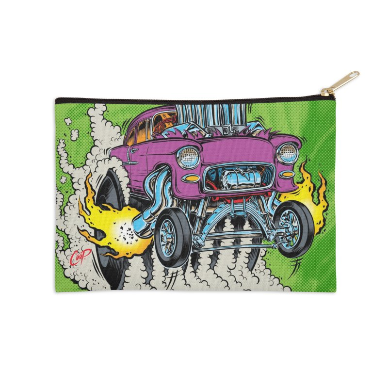 ENGORGED II Accessories Zip Pouch by artofcoop's Artist Shop