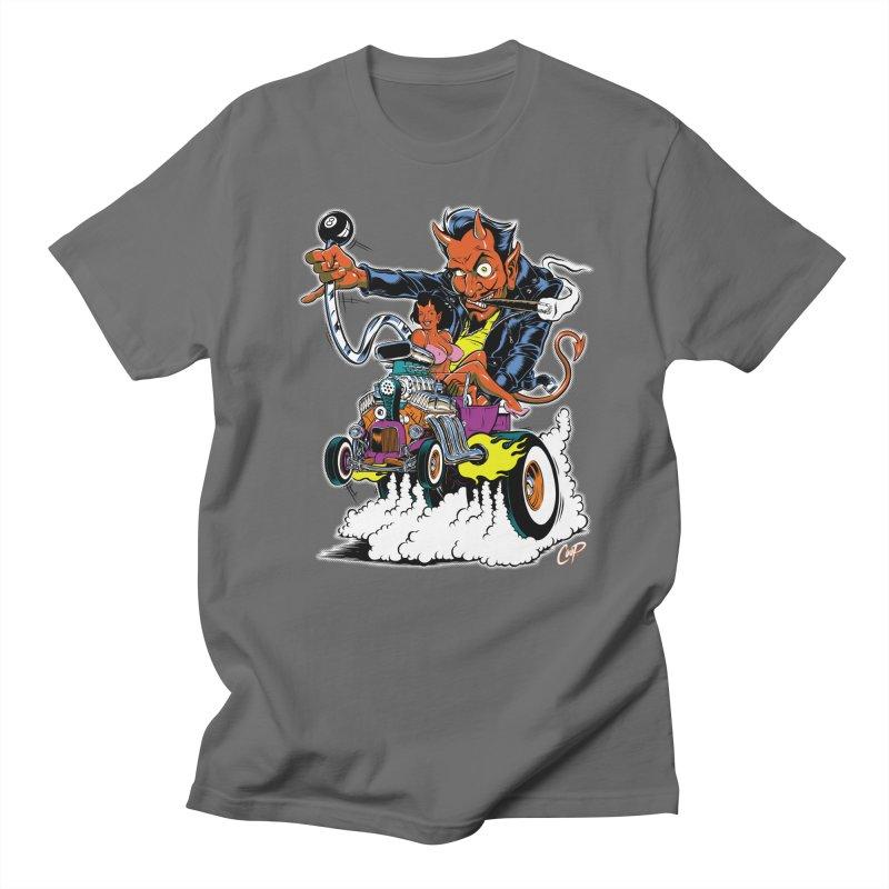 Devil Bucket Men's T-Shirt by The Art of Coop