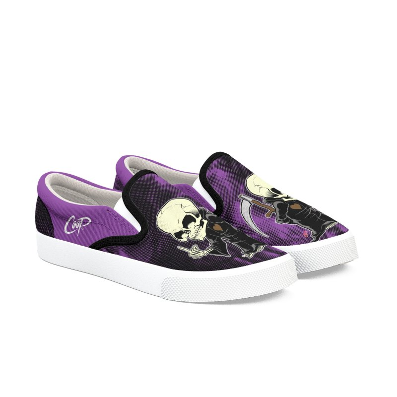 Lil' Mort in Men's Slip-On Shoes by The Art of Coop