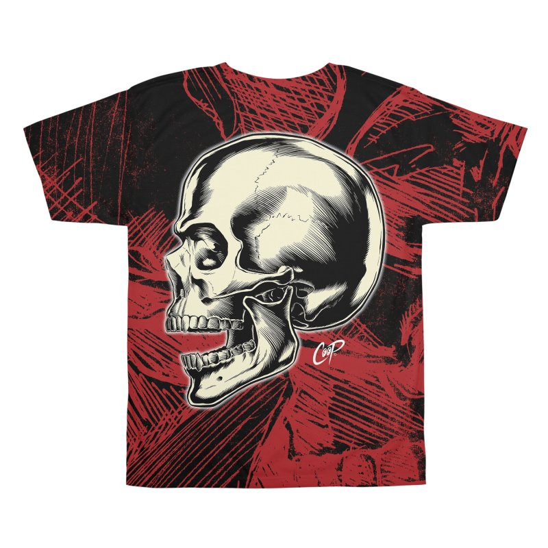 Memento Mori Men's All Over Print by The Art of Coop