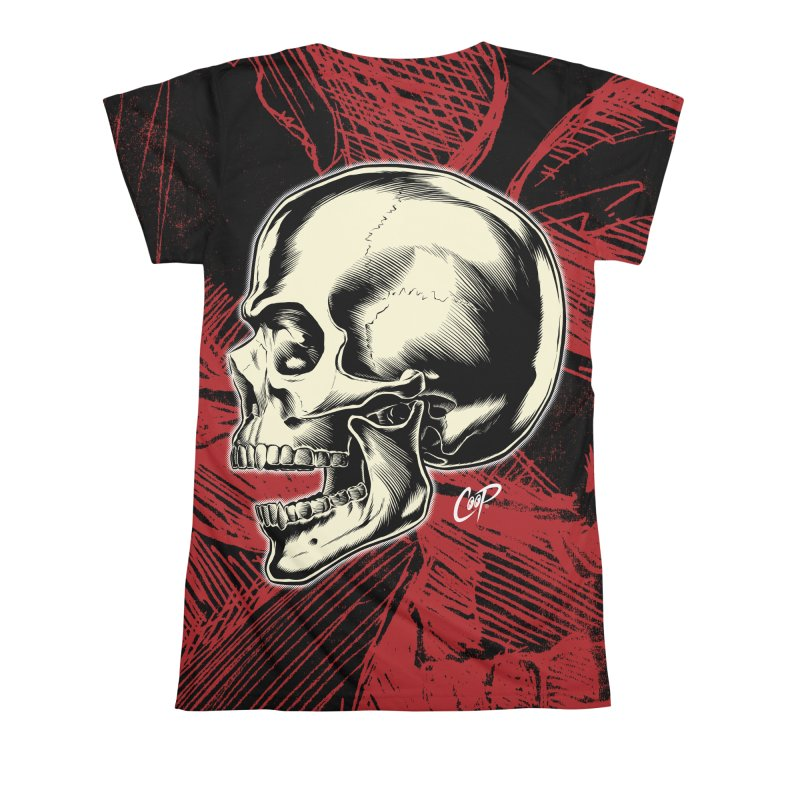 Memento Mori Women's All Over Print by The Art of Coop