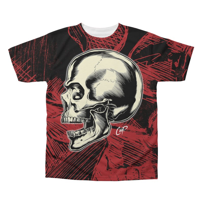Memento Mori Men's Regular All Over Print by artofcoop's Artist Shop