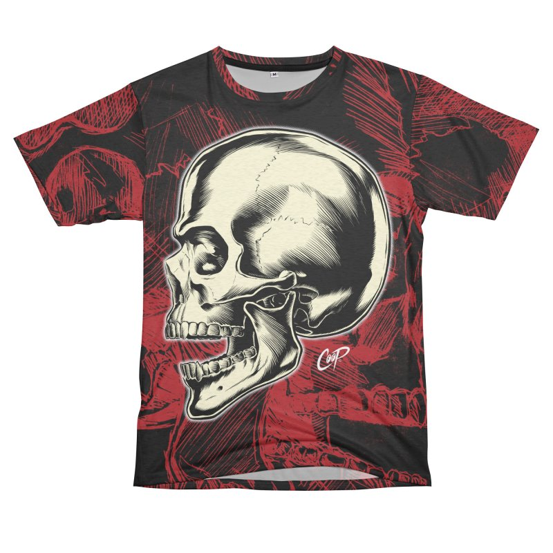 Memento Mori Men's French Terry T-Shirt Cut & Sew by The Art of Coop
