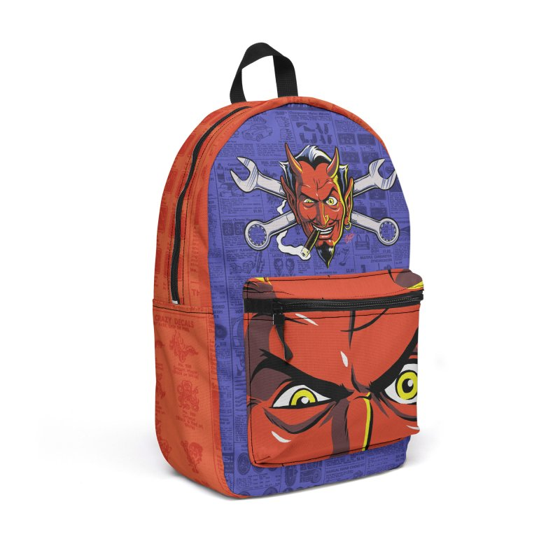 Wrench Devil in Backpack by The Art of Coop