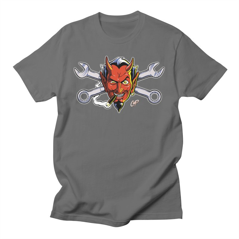 Wrench Devil Men's T-Shirt by The Art of Coop