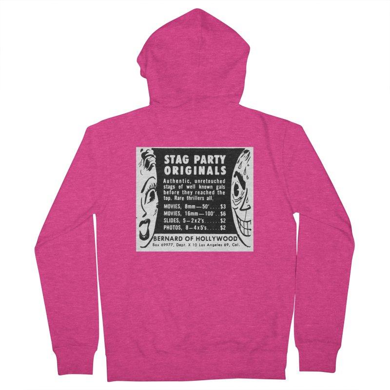 STAG PARTY Women's Zip-Up Hoody by artofcoop's Artist Shop
