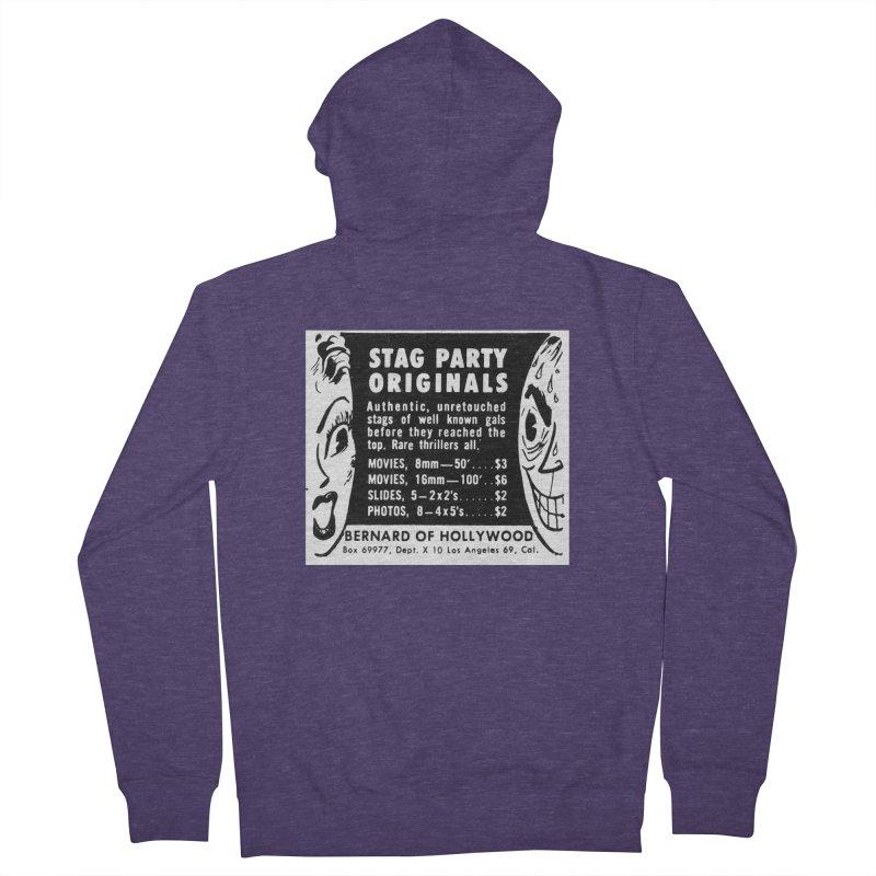 STAG PARTY Men's Zip-Up Hoody by artofcoop's Artist Shop