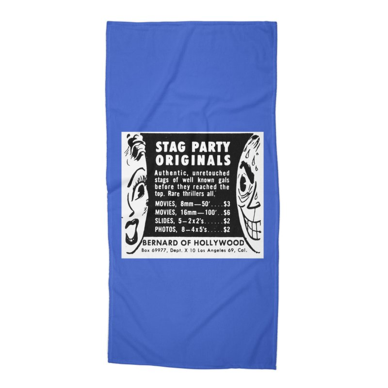 STAG PARTY Accessories Beach Towel by artofcoop's Artist Shop