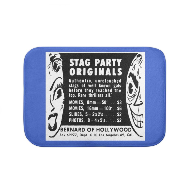 STAG PARTY Home Bath Mat by artofcoop's Artist Shop