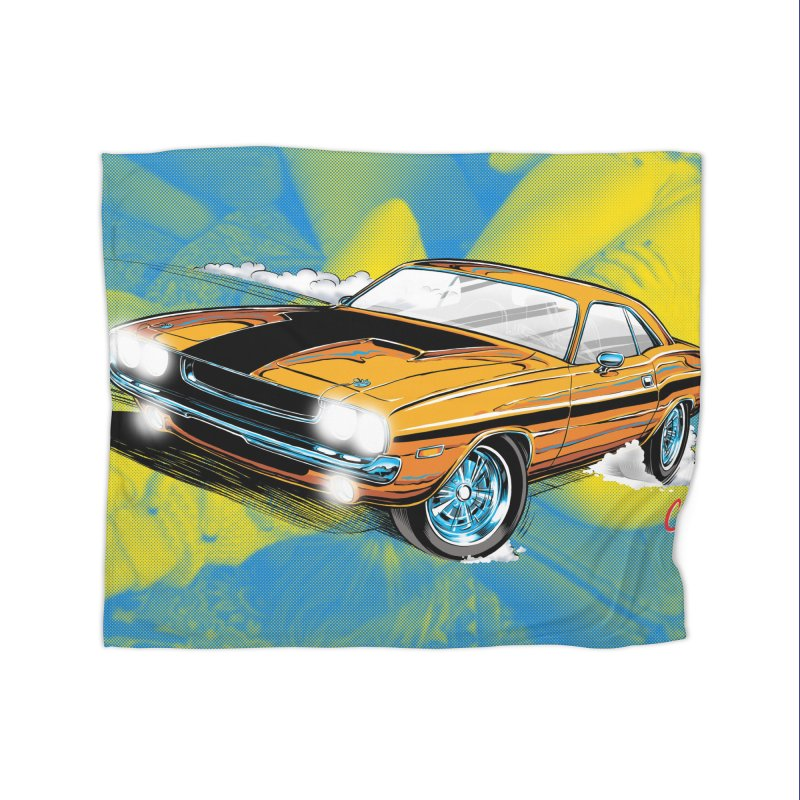 CHALLENGER Home Blanket by artofcoop's Artist Shop