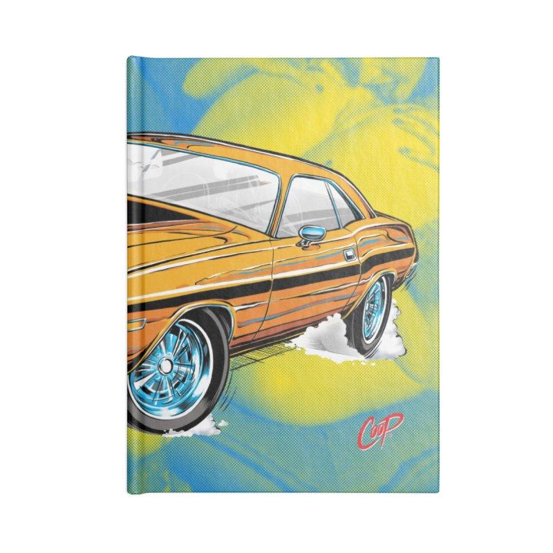 CHALLENGER in Blank Journal Notebook by artofcoop's Artist Shop
