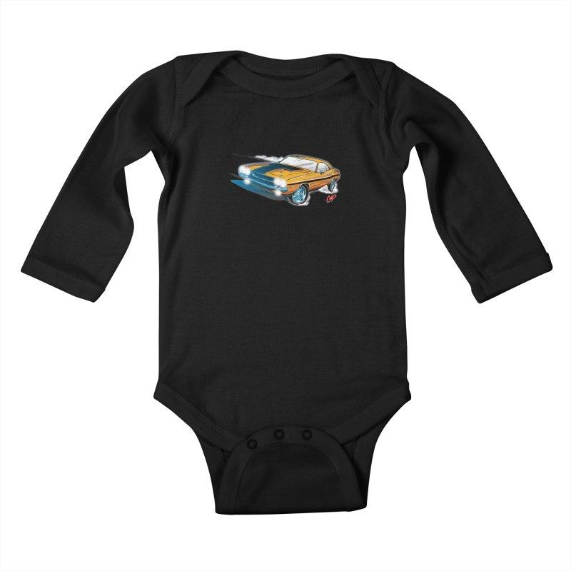 CHALLENGER Kids Baby Longsleeve Bodysuit by artofcoop's Artist Shop