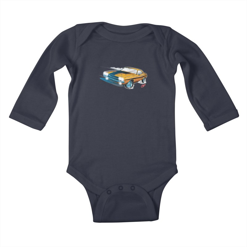 CHALLENGER Kids Baby Longsleeve Bodysuit by The Art of Coop