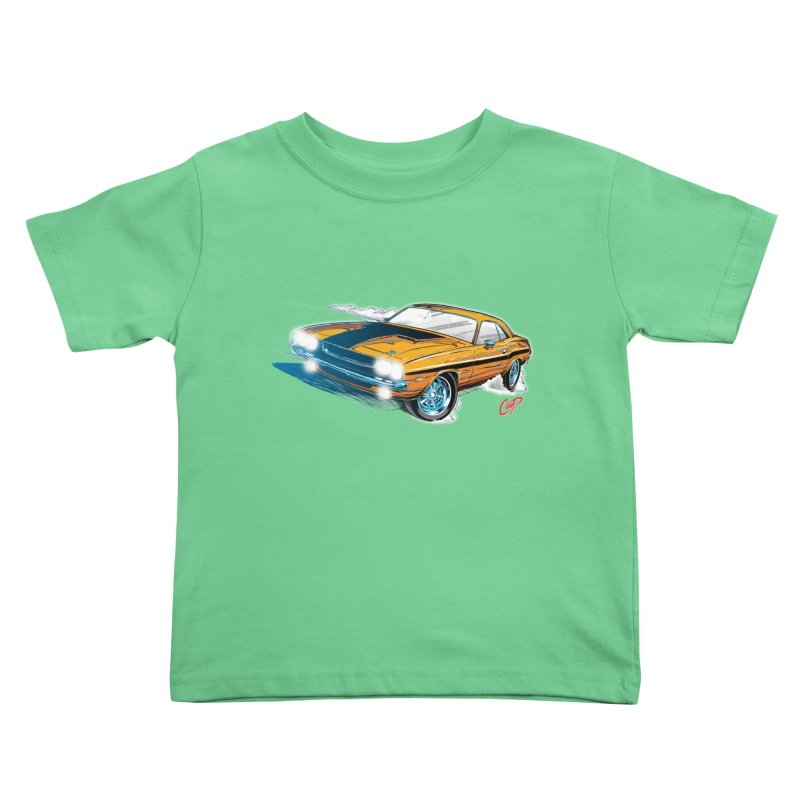 CHALLENGER Kids Toddler T-Shirt by artofcoop's Artist Shop