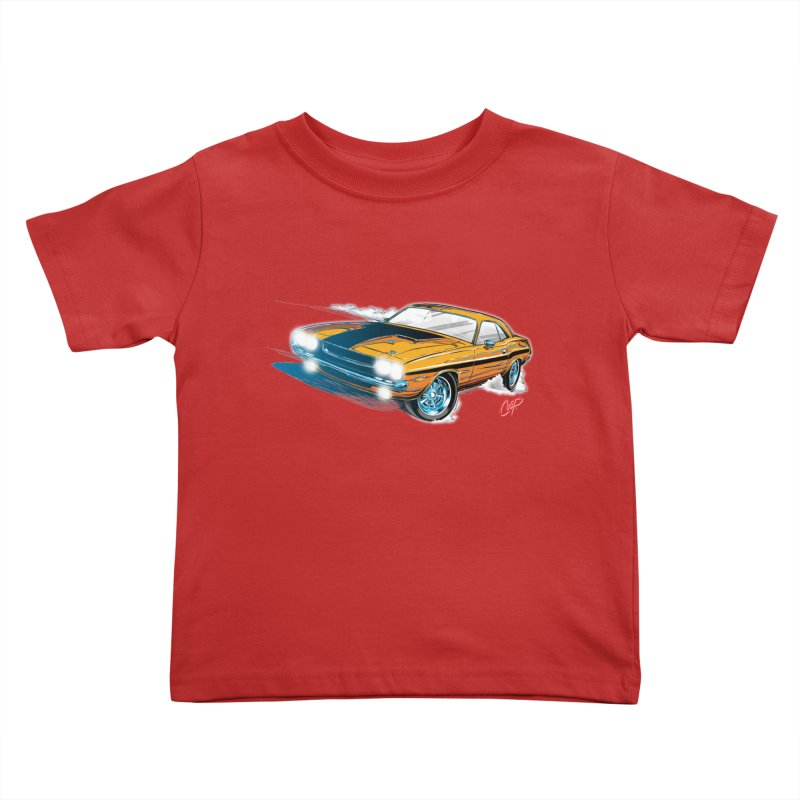 CHALLENGER Kids Toddler T-Shirt by The Art of Coop