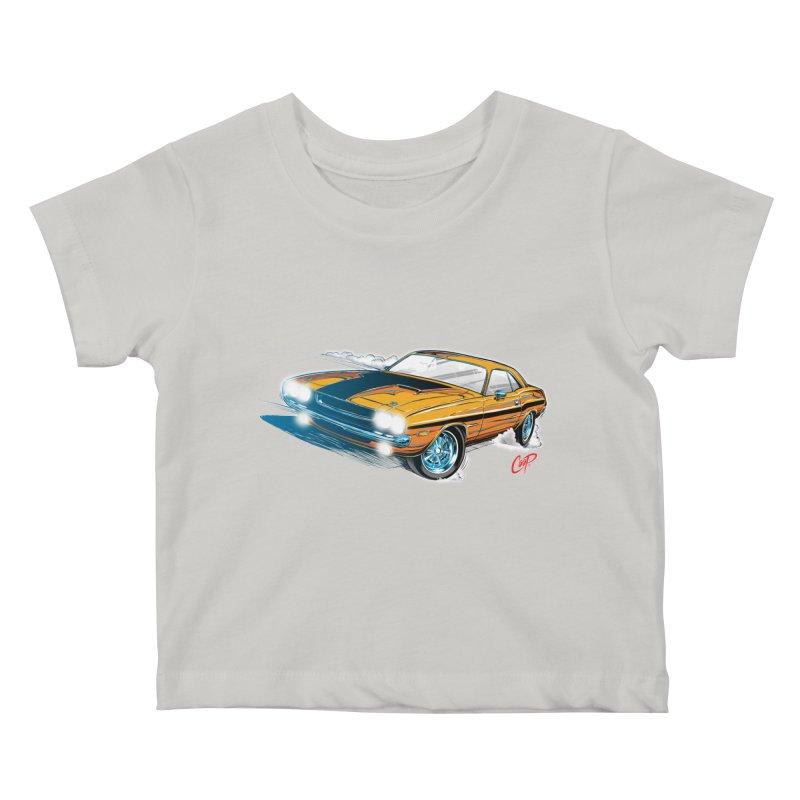 CHALLENGER Kids Baby T-Shirt by artofcoop's Artist Shop