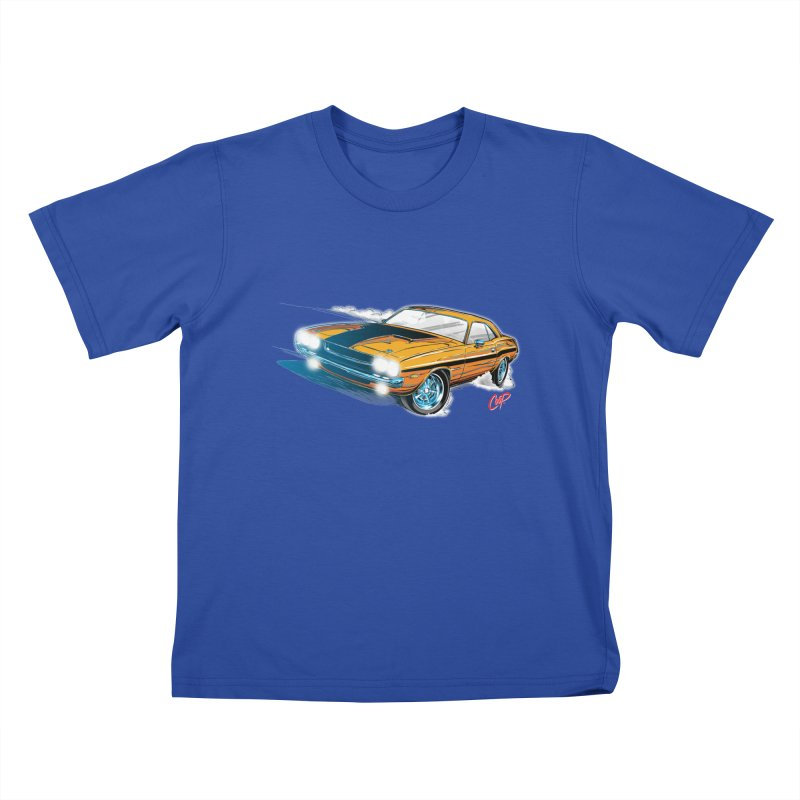 CHALLENGER Kids T-Shirt by The Art of Coop