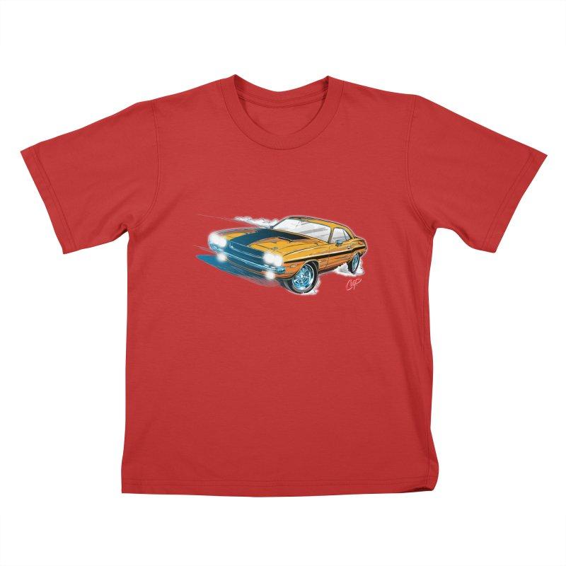 CHALLENGER Kids T-Shirt by artofcoop's Artist Shop