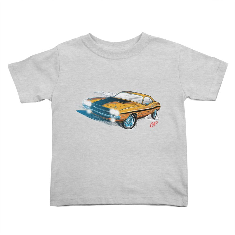 CHALLENGER Kids Toddler T-Shirt by artofcoop's Artist Shop