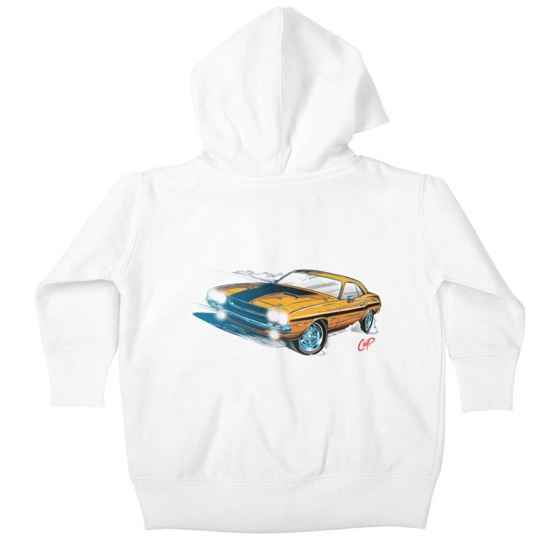 CHALLENGER Kids Baby Zip-Up Hoody by artofcoop's Artist Shop