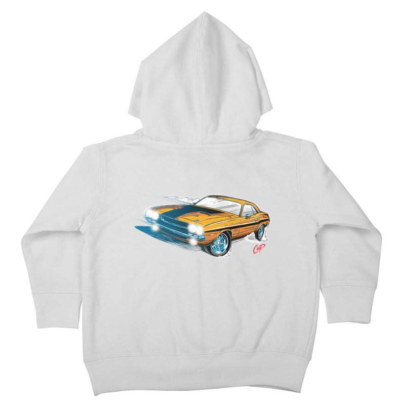 CHALLENGER Kids Toddler Zip-Up Hoody by artofcoop's Artist Shop