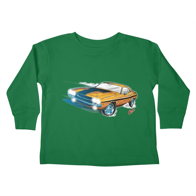 CHALLENGER Kids Toddler Longsleeve T-Shirt by The Art of Coop