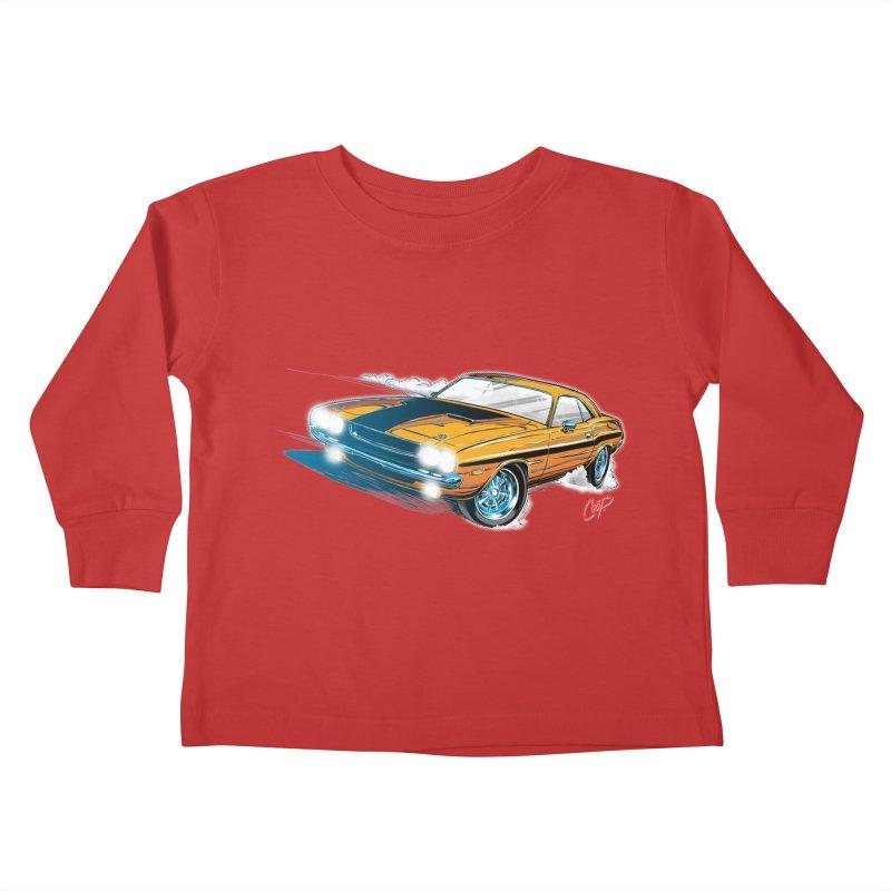 CHALLENGER Kids Toddler Longsleeve T-Shirt by artofcoop's Artist Shop