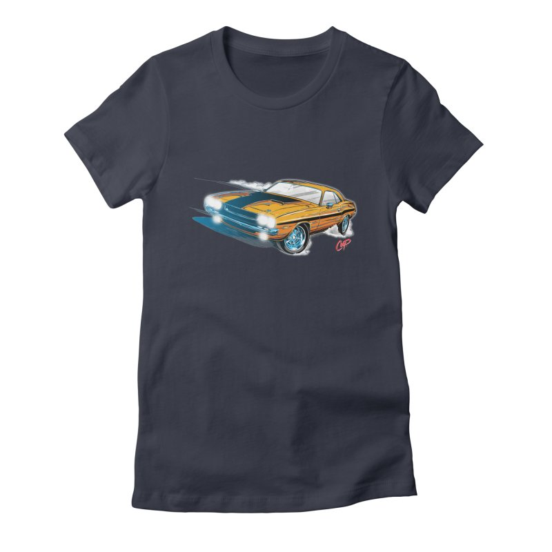 CHALLENGER Women's Fitted T-Shirt by artofcoop's Artist Shop