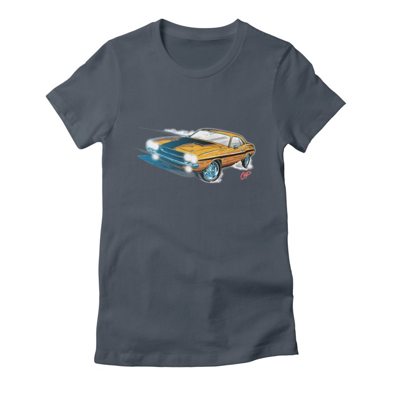 CHALLENGER Women's Fitted T-Shirt by The Art of Coop