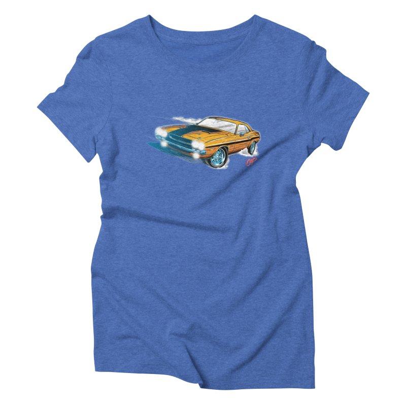 CHALLENGER Women's Triblend T-shirt by artofcoop's Artist Shop