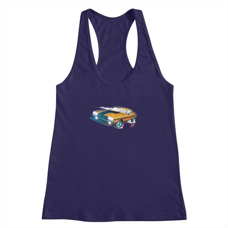 CHALLENGER Women's Racerback Tank by artofcoop's Artist Shop