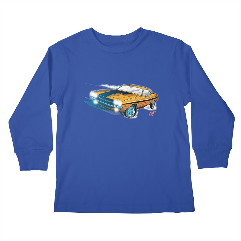 CHALLENGER Kids Longsleeve T-Shirt by The Art of Coop