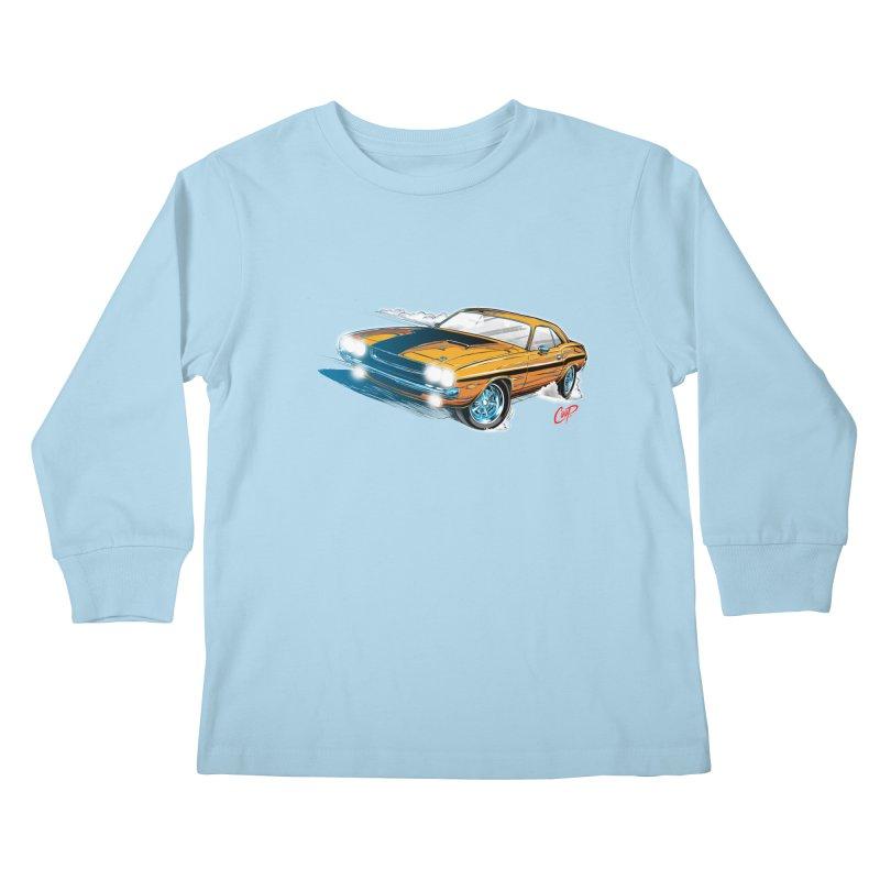 CHALLENGER Kids Longsleeve T-Shirt by artofcoop's Artist Shop