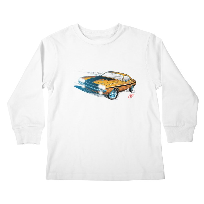 CHALLENGER Kids Longsleeve T-Shirt by artofcoop's Artist Shop