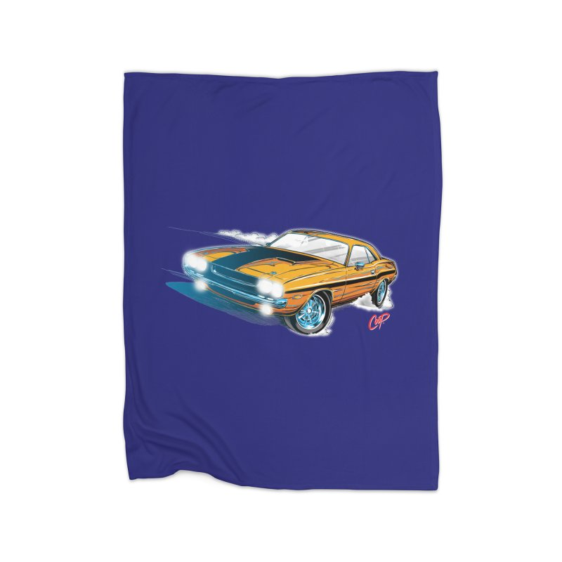 CHALLENGER Home Blanket by artofcoop's Artist Shop