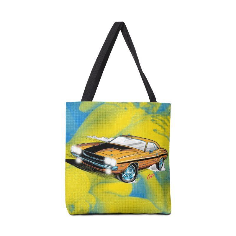 CHALLENGER Accessories Bag by artofcoop's Artist Shop