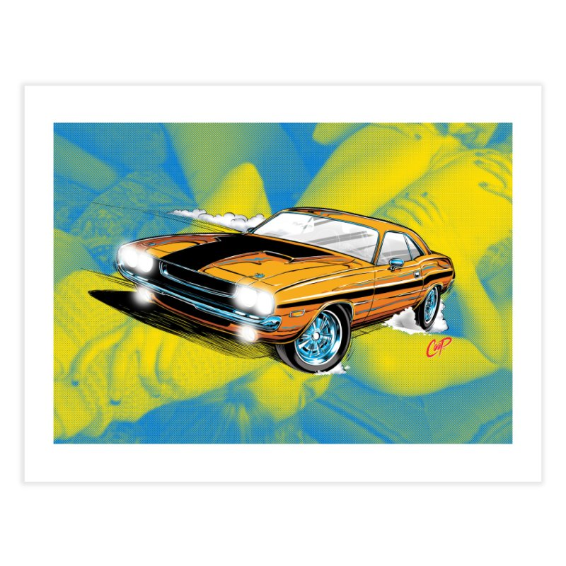 CHALLENGER Home Fine Art Print by artofcoop's Artist Shop