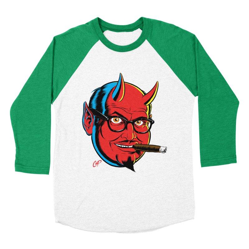 SALESDEVIL Men's Baseball Triblend T-Shirt by artofcoop's Artist Shop