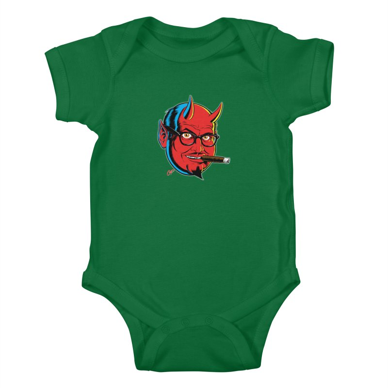 SALESDEVIL Kids Baby Bodysuit by The Art of Coop