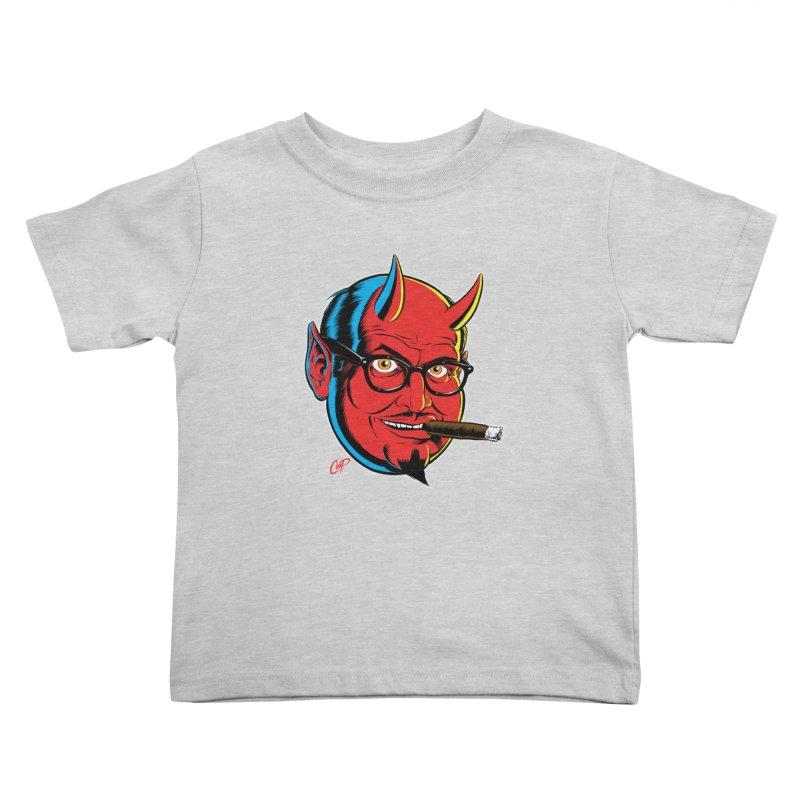 SALESDEVIL Kids Toddler T-Shirt by artofcoop's Artist Shop