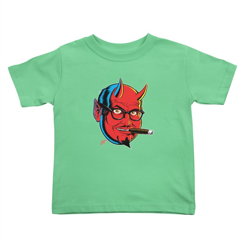 SALESDEVIL Kids Toddler T-Shirt by artofcoop's Artist Shop