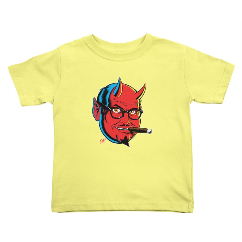 SALESDEVIL Kids Toddler T-Shirt by The Art of Coop