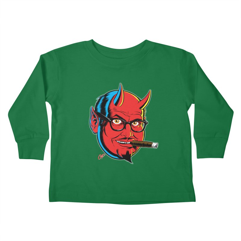 SALESDEVIL Kids Toddler Longsleeve T-Shirt by artofcoop's Artist Shop