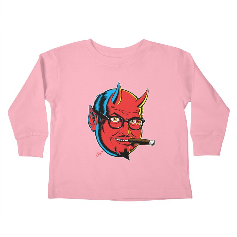 SALESDEVIL Kids Toddler Longsleeve T-Shirt by The Art of Coop