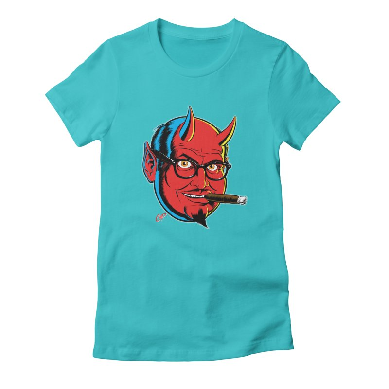 SALESDEVIL Women's Fitted T-Shirt by The Art of Coop
