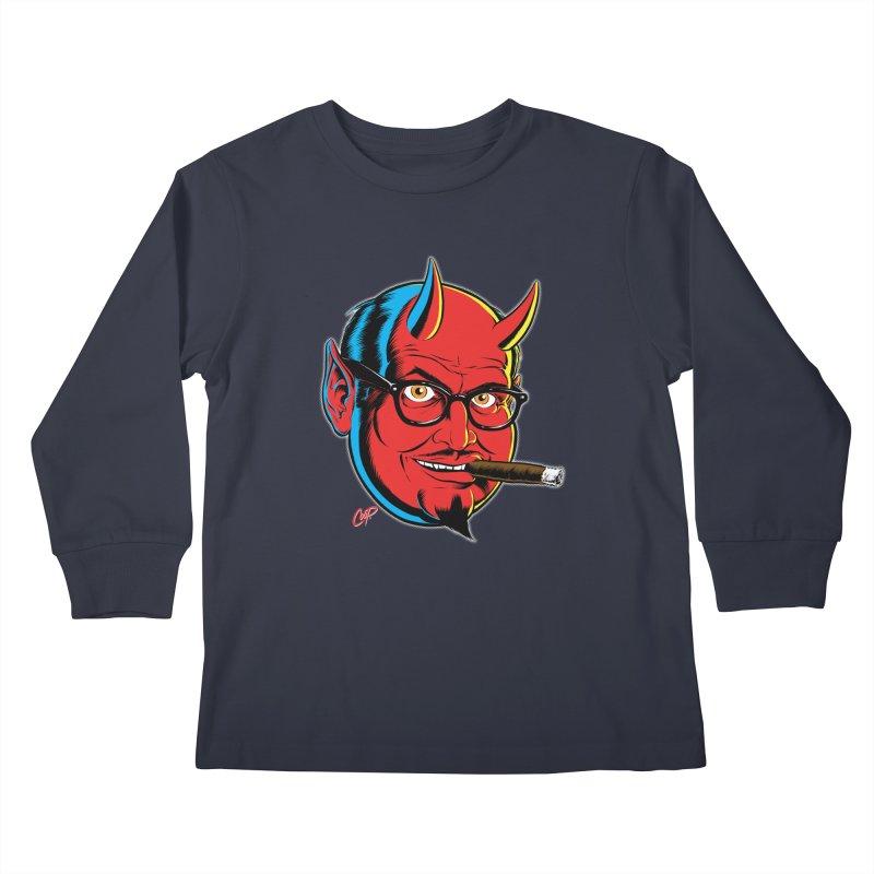 SALESDEVIL Kids Longsleeve T-Shirt by The Art of Coop