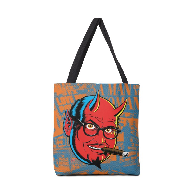 SALESDEVIL Accessories Bag by artofcoop's Artist Shop