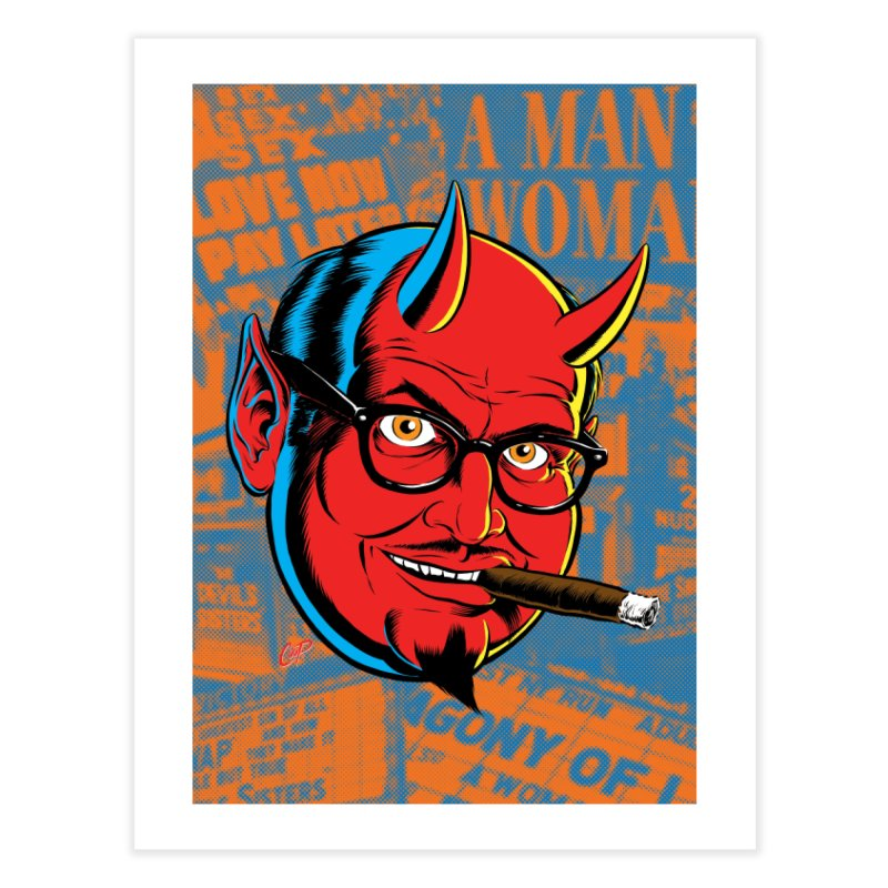 SALESDEVIL Home Fine Art Print by artofcoop's Artist Shop