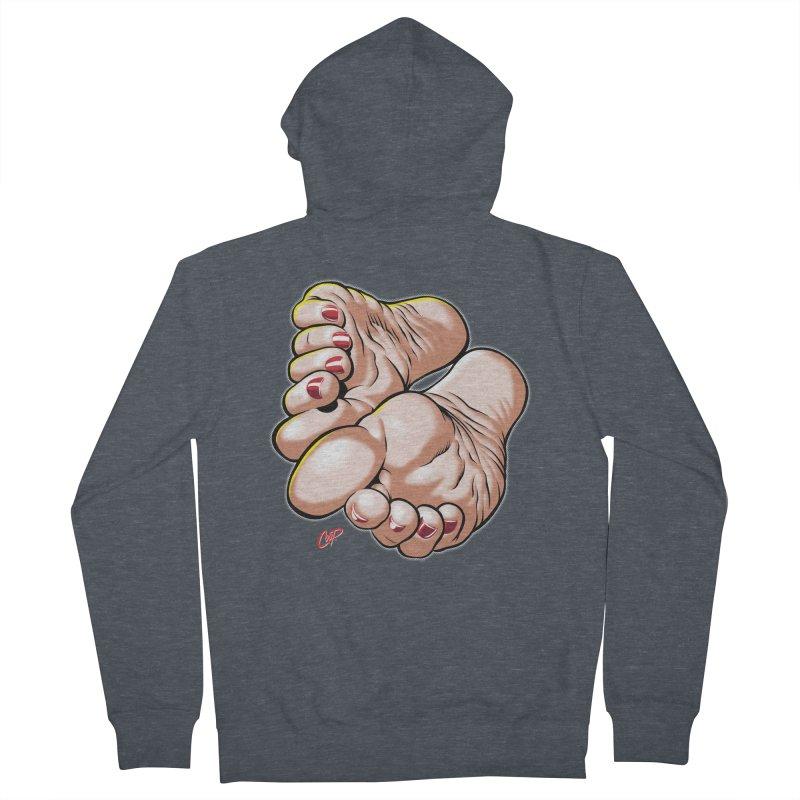 FOOT FETISH Women's Zip-Up Hoody by artofcoop's Artist Shop